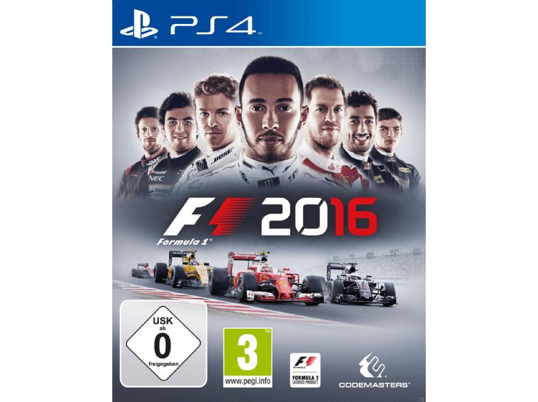 F1 2016 - PS4 und XBOX - Marktabholung möglich