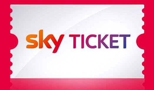 Sky Ticket für 1€ + 2€ Cashback von Shoop