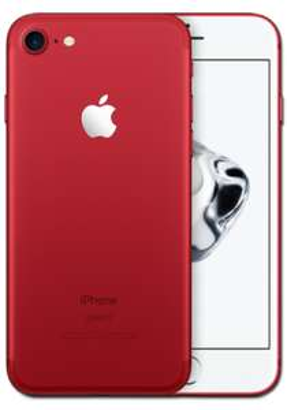 [Handyflash] Apple iPhone 7 128 GB *ROT* + Vodafone 2 GB Allnet Flat - 39,99 €/mtl. - 1€ Anzahlung