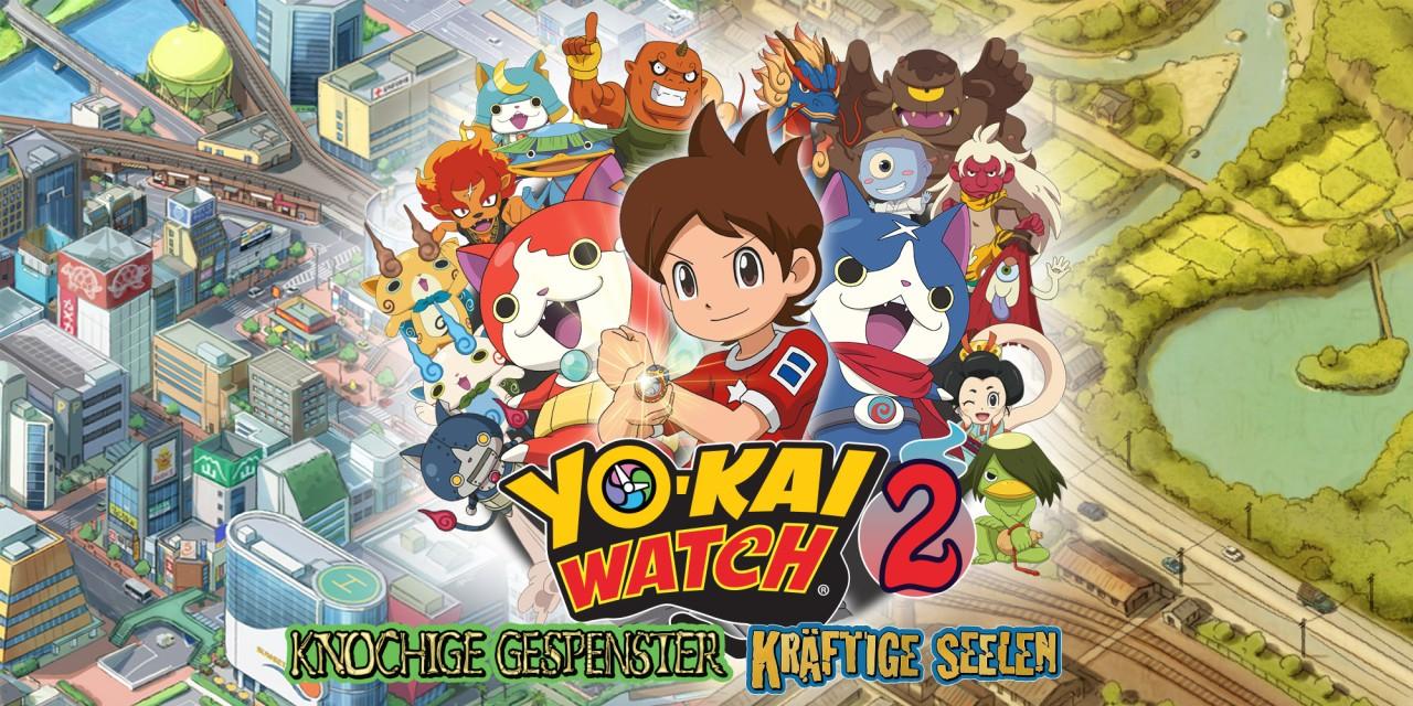 kostenloses Yo-Kai Watch 2 Design für 3DS
