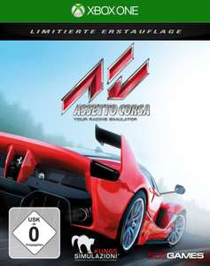 Assetto Corsa (Xbox One & PS4) für je 19,99€ inkl. VSK (Saturn oder Amazon-Prime)