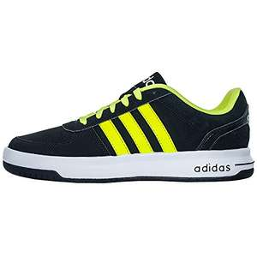 vente-privee- Sneakers Cloudfoam Hoops - schwarz und leuchtgelb Größe: 44 Herren
