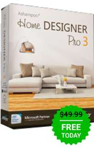 Giveaway of the day — Ashampoo Home Designer Pro 3 Rerun