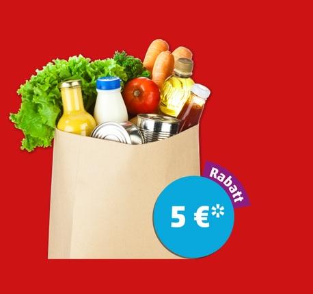 PENNY 5€ Rabatt ab 40€ Einkauf