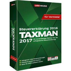 TAXMAN 2017 (Steuerjahr 2016) für Vermieter