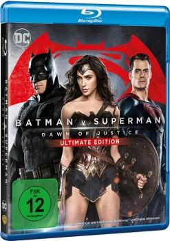 [alphamovies] Batman v Superman - Dawn of Justice Ulimate Edition und Ein ganzes halbes Jahr (BluRay) für je 5,94 € + Versand