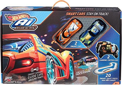 [Amazon oder Galeria Kaufhof] Mattel Hot Wheels FBL83 - Ai Intelligent Race System, inklusive 2 Fahrzeuge, 2 Fernsteuerungen