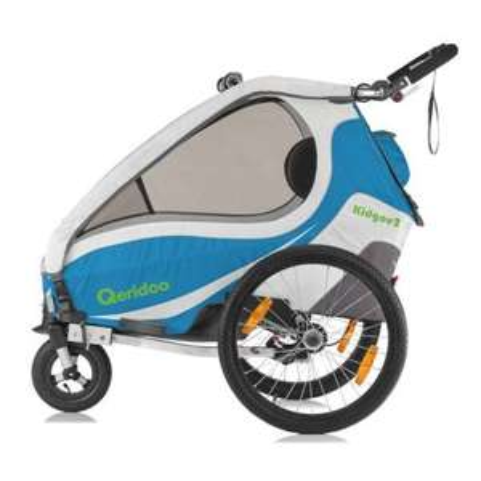 Qeridoo KidGoo2 Fahrradanhänger Modeljahr 2017