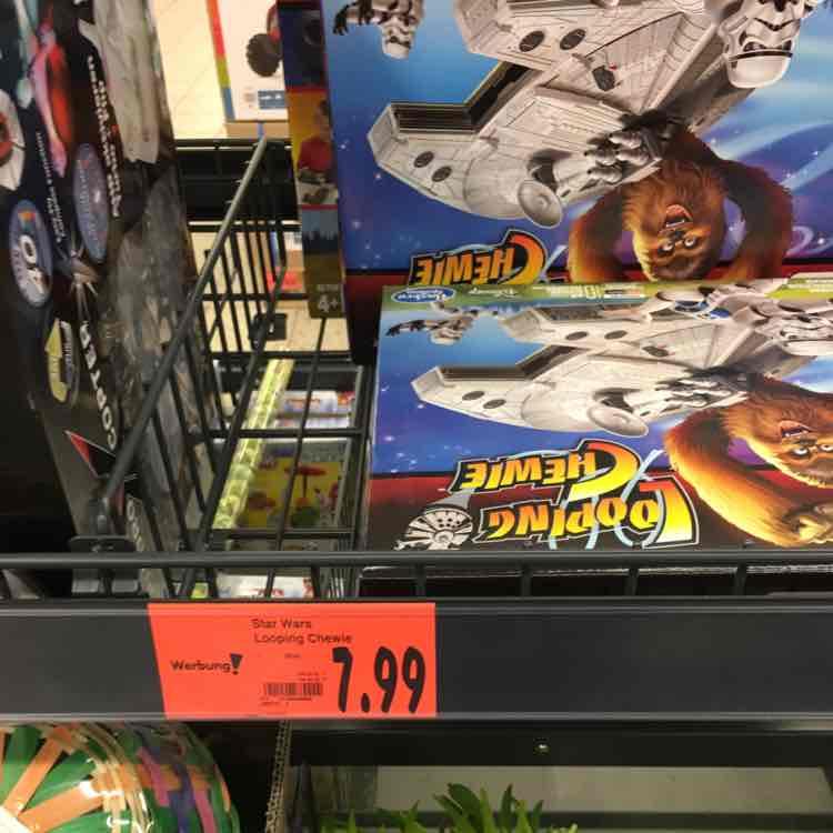 Lokal Kaufland Bergkamen Star Wars Looping Chewie