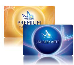 Merlin Jahreskarte Standard ab 69€ p.P. und Premium ab 79€ p.P.