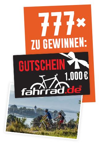 [Ab April 2017] Loose Produkt kaufen und 10% Rabattcode für fahrrad.de erhalten + Chance auf einen von 777  1000€ fahrrad.de Gutscheinen