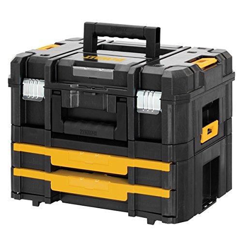 [Amazon] DeWalt Werkzeugkoffer DWST1-70702 Transportbox Combo TSTAK Box II & TSTAK Box IV 51,90€, VGP ~70€