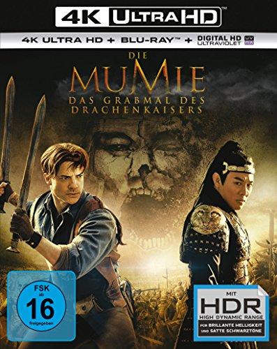 [amazon.de] Die Mumie - Das Grabmal des Drachenkaisers 4K Ultra HD 21,99 Euro