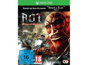 AoT: Wings of Freedom (based on Attack on Titan) (PS4 & Xbox One) für je 16,99€ versandkostenfrei (Saturn)
