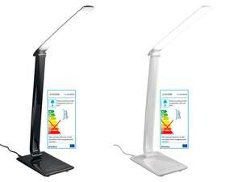 [Lidl lokal & online] LED -Tischleuchte Livarno Lux mit 5 Lichtfarben und 7 Dimmstufen (bis 500 lm) für 19,99 € (+ggf. 4,95 € Versand)