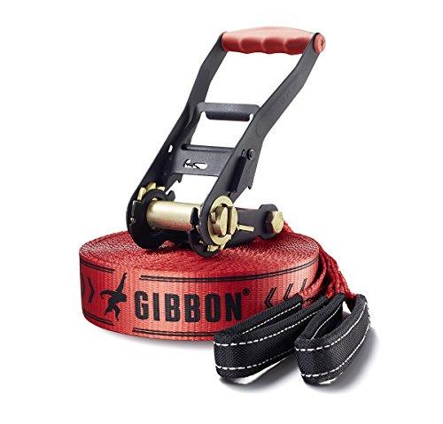 [amazon.de] Gibbon Slackline Red Classic Line Tree Pro 15m