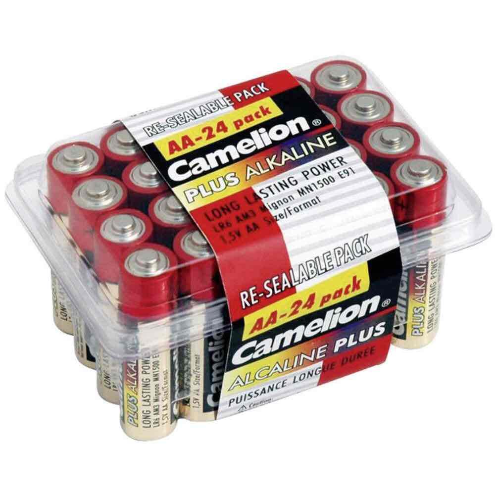 [Conrad] 24 Camelion Alkaline Mignon-Batterien gratis durch Gutschein MBW 29€