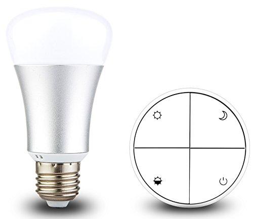 Amazon.de: Dimmbare LED Lampe (E27) inklusive kabellos verwendbarem Schalter