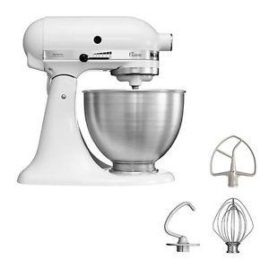 ebay WoW Kitchenaid 5K45SSEWH 4,3 L Küchenmaschine für 289,90 Euro