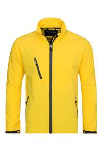 [Outlet46] Acode Softshell Jacket Herren in Gelb