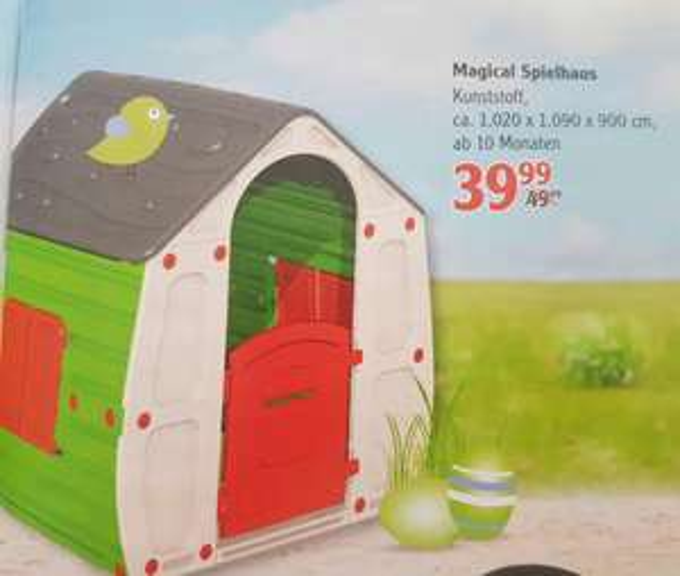 Magical Spielhaus Classic  (lokal?) Globus Neutraubling
