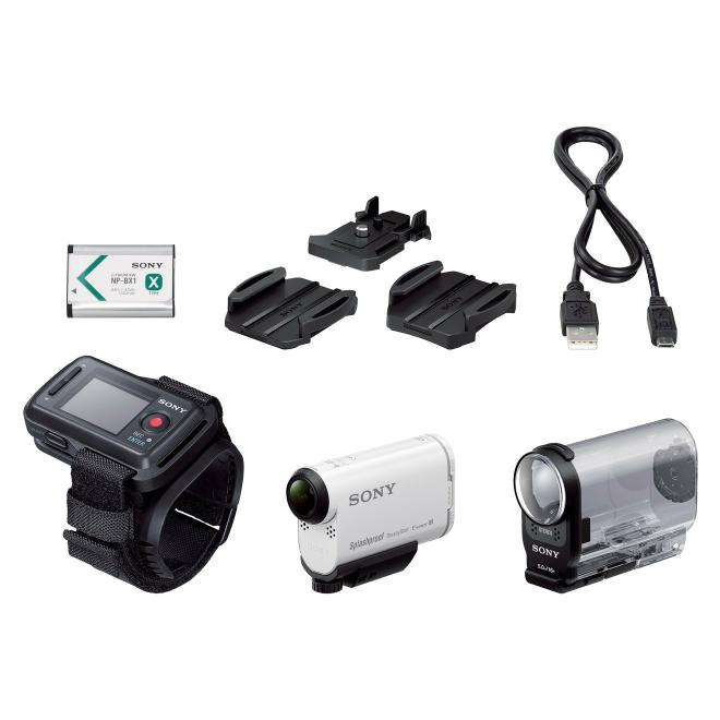 [Amazon] + [MediaMarkt (eBay)] Actioncam Sony HDR-AS200VR (mit Remotearmband) für 229,00