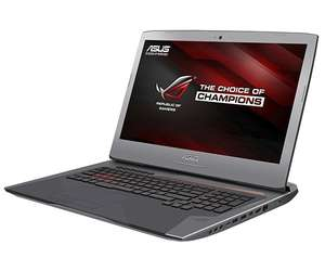 [One] ASUS ROG G752VM-GC034D i7-6700HQ, Nvidia GTX 1060M, 8GB, 1 TB HDD, BluRay Combo, FreeDOS