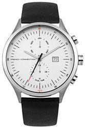 French Connection Uhr - weiß-silberfarben/schwarz 60% reduziert