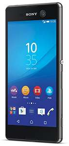 "[Carbonphone / Allyouneed] Sony XPERIA M5, Smartphone, 4G LTE, 16 GB, 5"" 1.920 x 1.080 Pixel IPS, 21,5 MP (13 MP Vorderkamera), Android 6.0, Schwarz, Demoware"