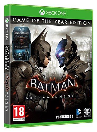 Batman Arkham Knight - Game Of The Year (Xbox One) für 18,49€ (Amazon.it)