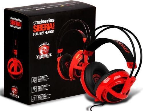 "SteelSeries Siberia v2 ""MSI Dragon Edition"" für 43,50€ [PVG 79€]"