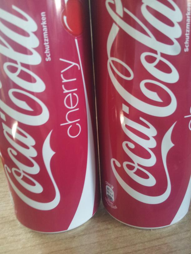 [LIDL] Coca Cola Dosen 0,33l (Cherry, Standard)