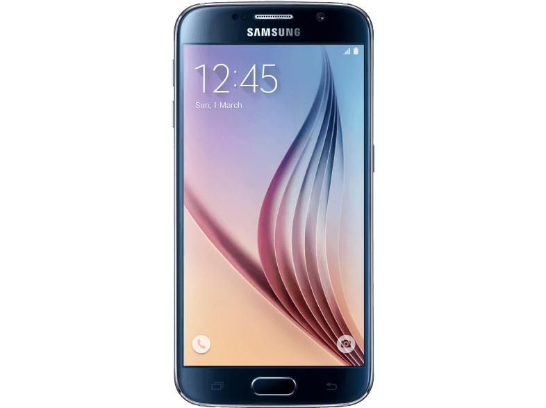 SAMSUNG Galaxy S6 32 GB, schwarz oder gold (SM-G920FZKAATO) für 333€ [saturn.at]