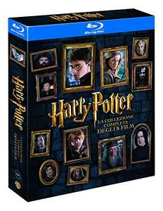 Harry Potter Komplettbox (Blu-ray) für 21,91€ (Amazon.it)