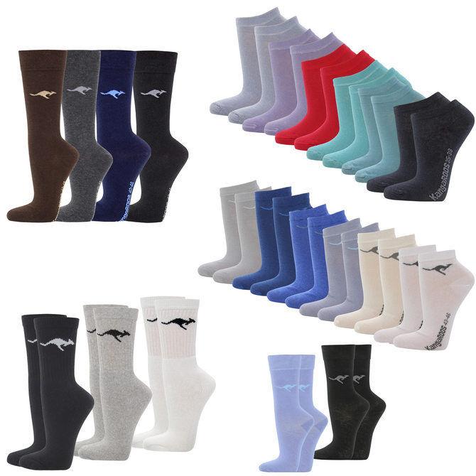 12 Paar KangaROOS Sport- oder Sneakersocken für 9,99€ [ebay]