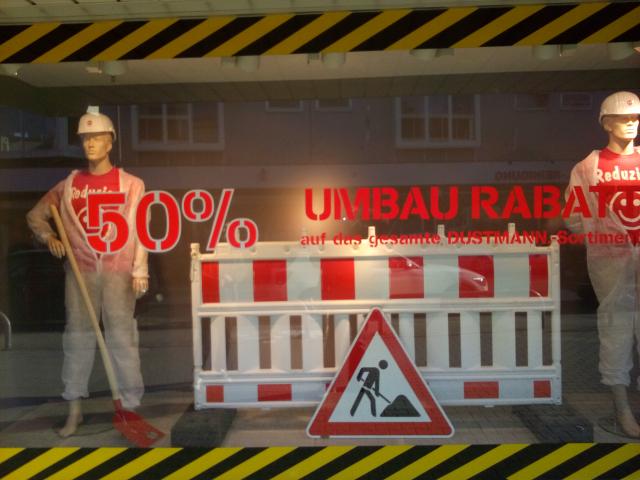 Lokal Dortmund Hombruch Dustman 50% auf alles