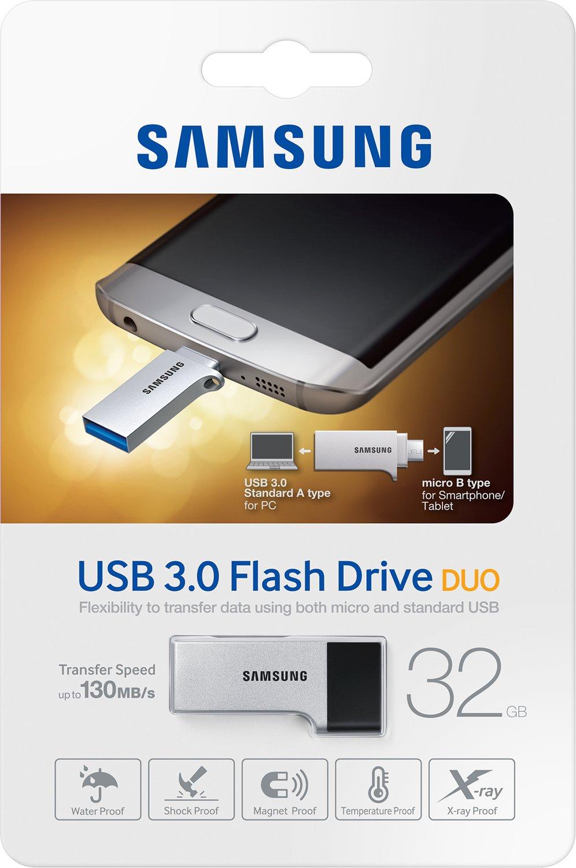 Samsung 32GB Flash Drive Duo 3.0 OTG USB Stick bei Cyberport für 9,90