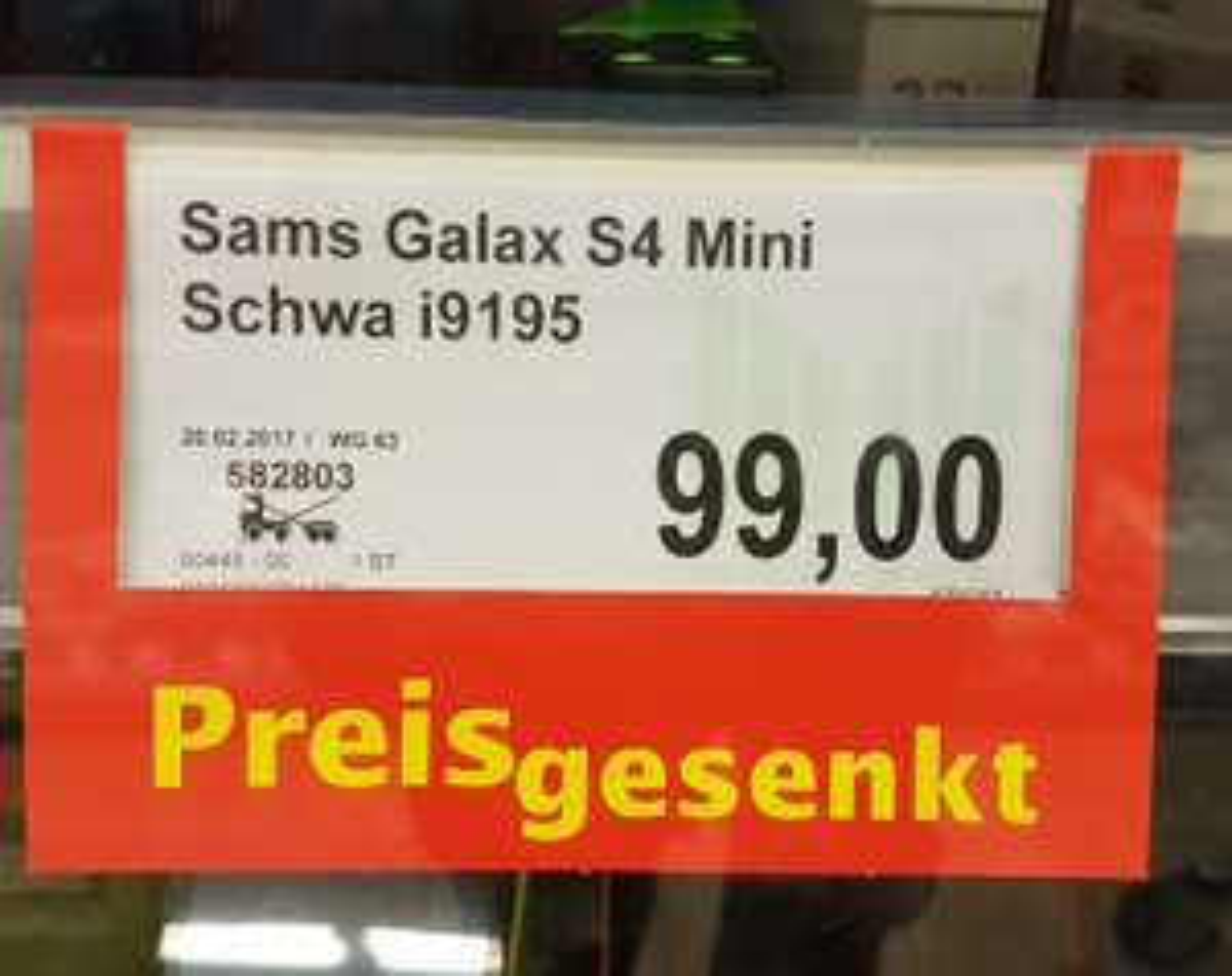 *LOKAL*  Marktkauf Frechen - Samsung Galaxy S 4 MINI in Schwarz