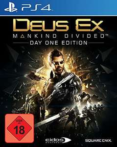Deus Ex: Mankind Divided (PS4) bei Amazon
