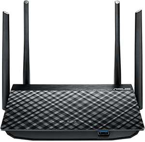 Amazon Angebot: Asus RT-AC58U AC1300 Dual-Band 802.11ac WLAN Router (Gigabit LAN/WAN, USB 3.0, Server-Funktionen, IPv6, 8x SSID, AiRadar, MU-MIMO)