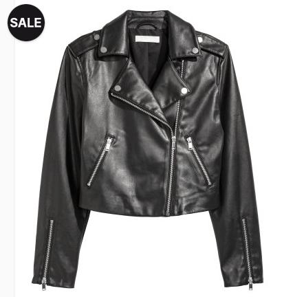 Riesiger H&M-Sale mit bis zu 70% Rabatt + gratis Versand ab 50€, z.B. Damen Bikerjacke (Gr. 32-46) für 15,99€ statt 29,99€ , Herren Sweatshirt für 4,99€ statt 9,99€
