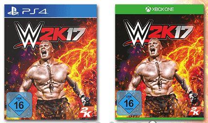 [Saturn) WWE 2K17 (Playstation 4 und Xbox One] + Season Pass für je 29,99€ Versandkostenfrei