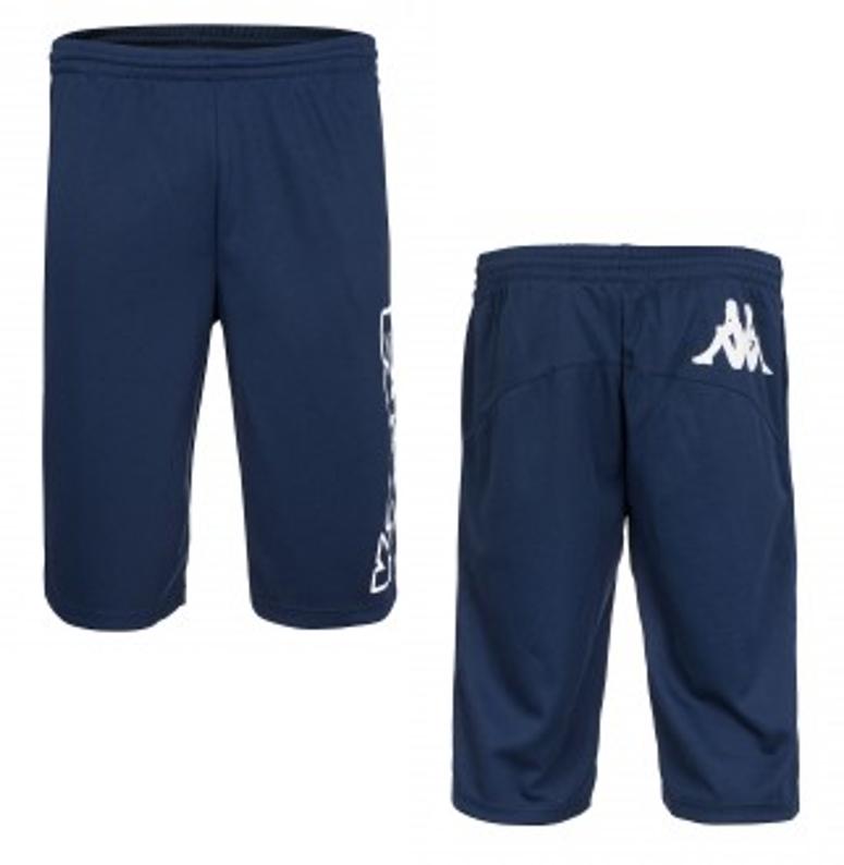 Kappa Pioltello Short bzw. Sporthose in blau @outlet46