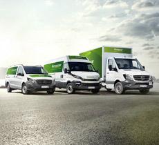 Europcar unbegrenzte Frei-Km für ca. 9-18€ auf manchen Strecken