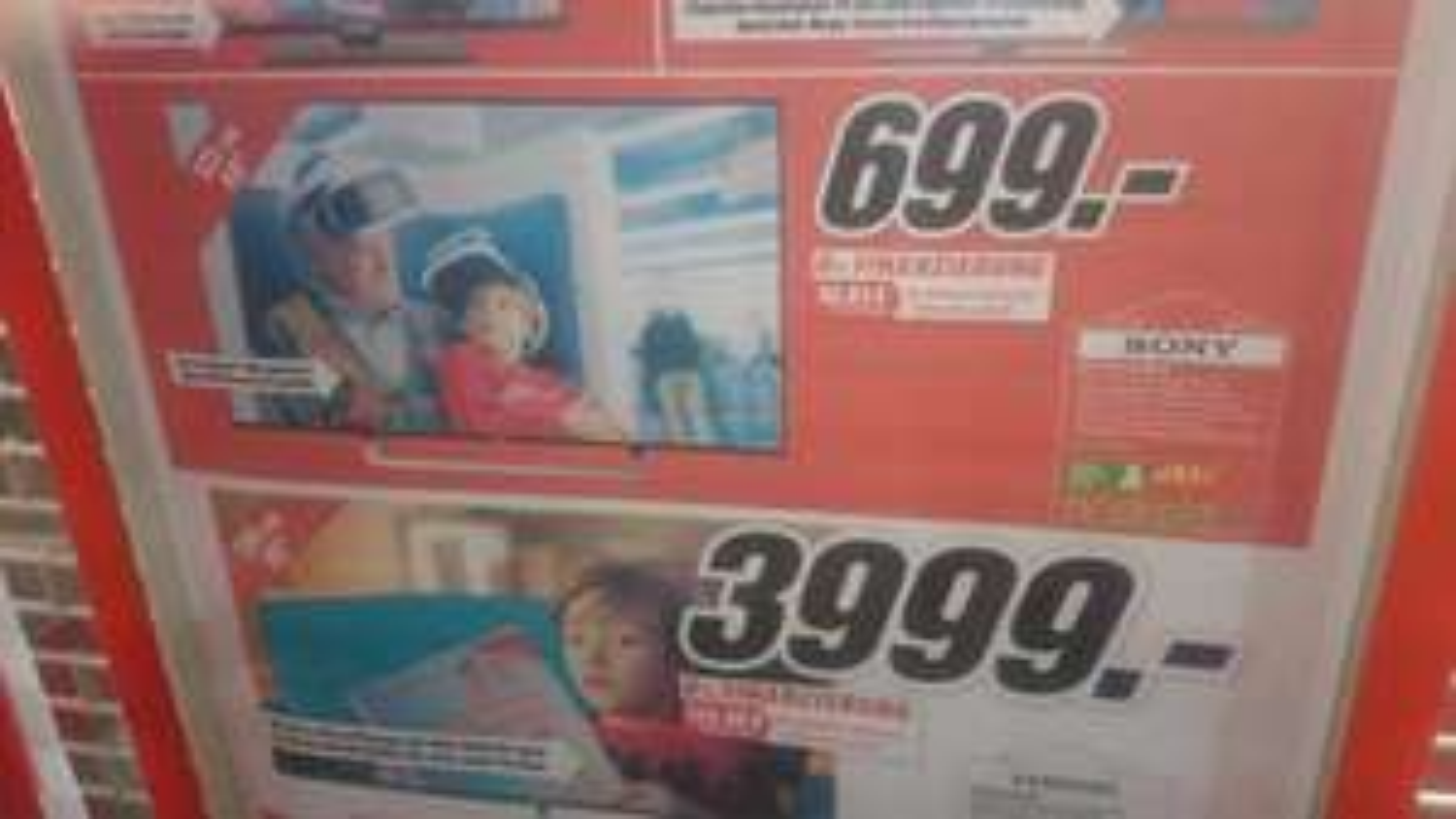 LOKAL  ELMSHORN - TV´s , Kühlschrank und mehr radikal unter Netzpreis - regionale Werbung