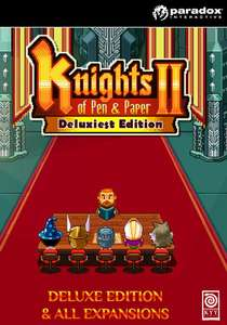 Knights of Pen and Paper 2 - Deluxiest Edition für 4,33€ [Games Planet - UK] [Steam]
