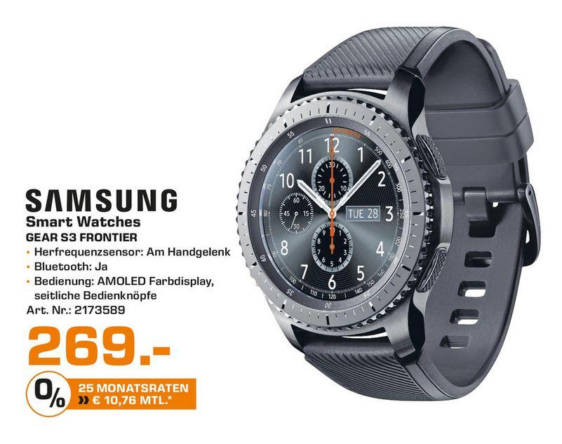[Lokal Saturn Bochum + Hattingen] Samsung Gear S3 Frontier
