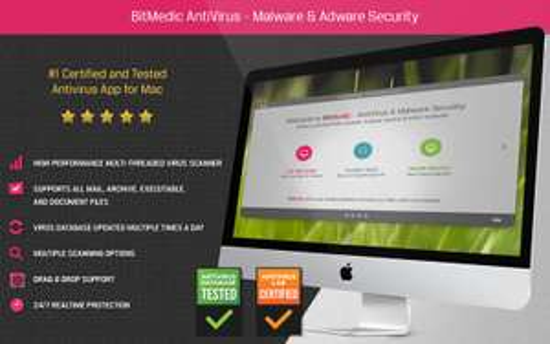 [MacOS] BitMedic AntiVirus - Malware & Adware Security statt €59.99 -> € 0.99