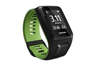 [Amazon] TomTom Runner 3 GPS-Sportuhr  (Routenfunktion, Multisport-Modus, 24/7 Aktivitäts-Tracking)