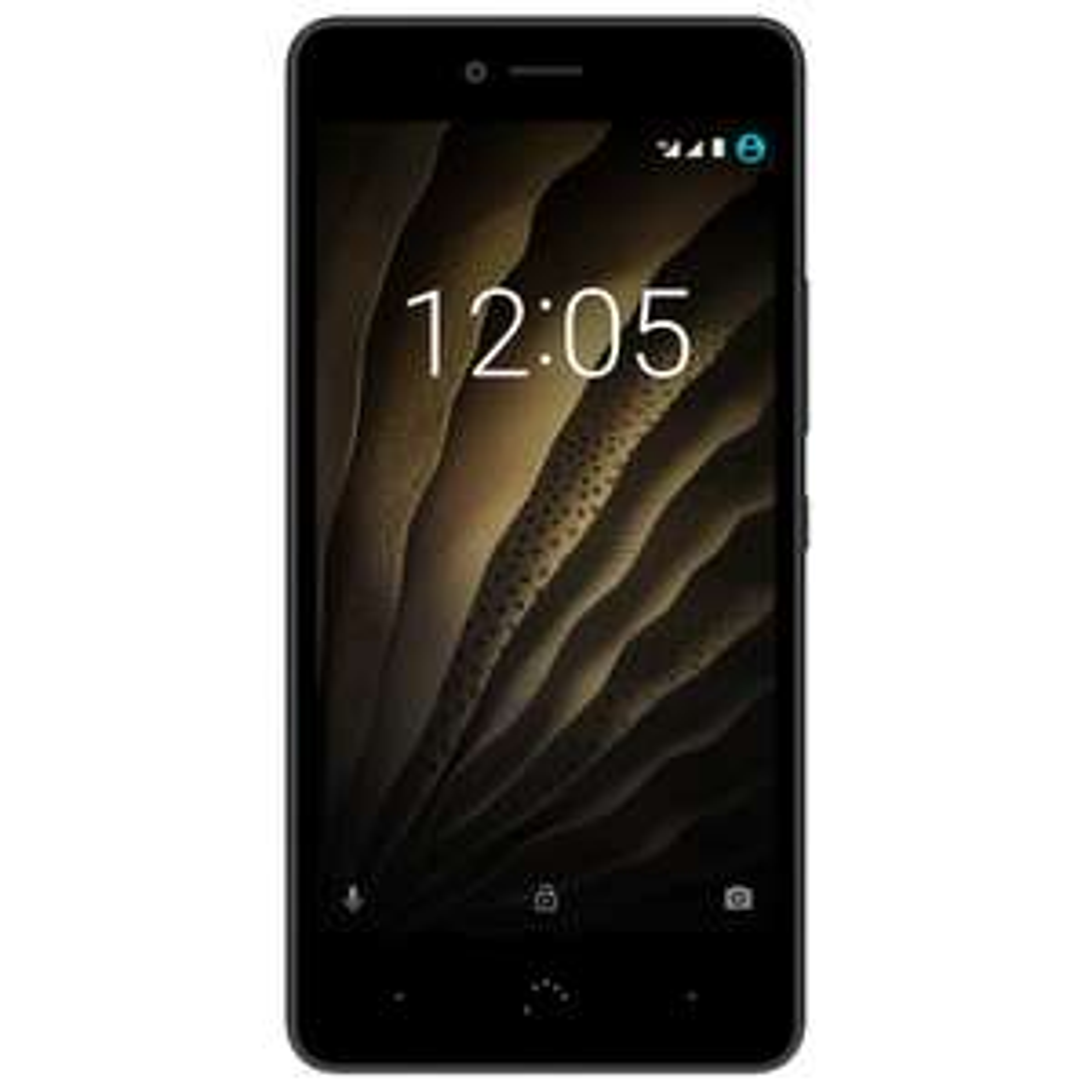 """[NBB] BQ Aquaris U 16GB 2GB RAM Schwarz/Graphit [12,7cm (5"""") HD-Display, Android 6.0.1, 1,4 GHz Octa-Core CPU, 13MP Kamera, Dual-SIM]"""